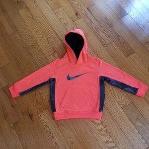 Nike Orange Coral Hoodie
